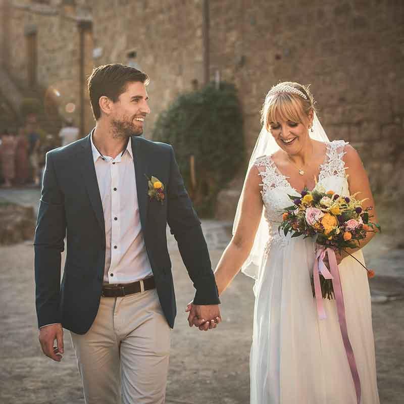 Fotografo Matrimonio Civita di Bagnoregio