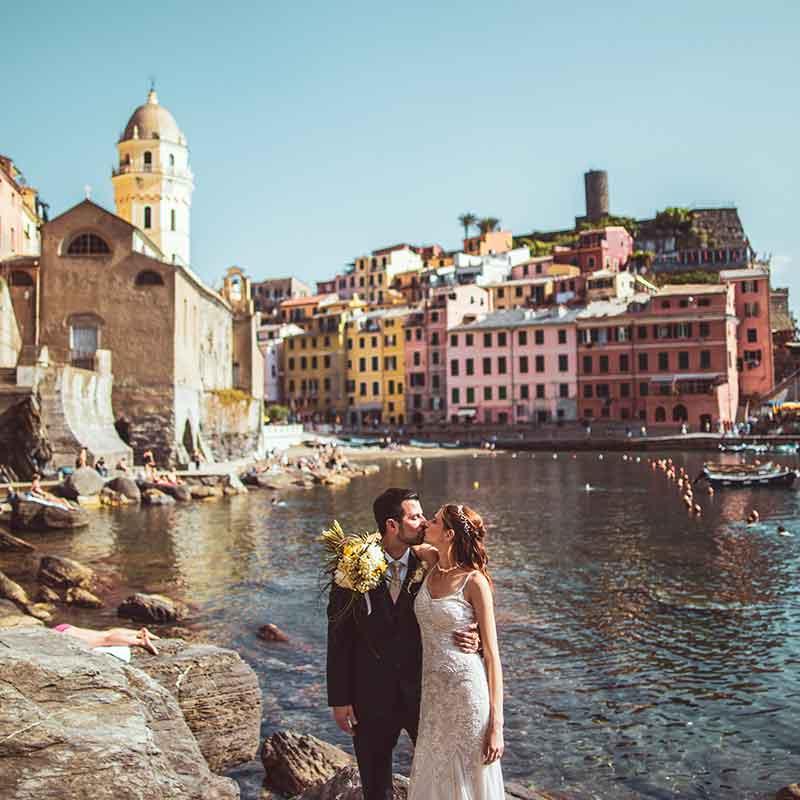 Foto Matrimonio Liguria Vernazza